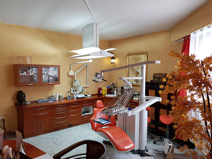Salle de soin dentiste Anamaria Bercea