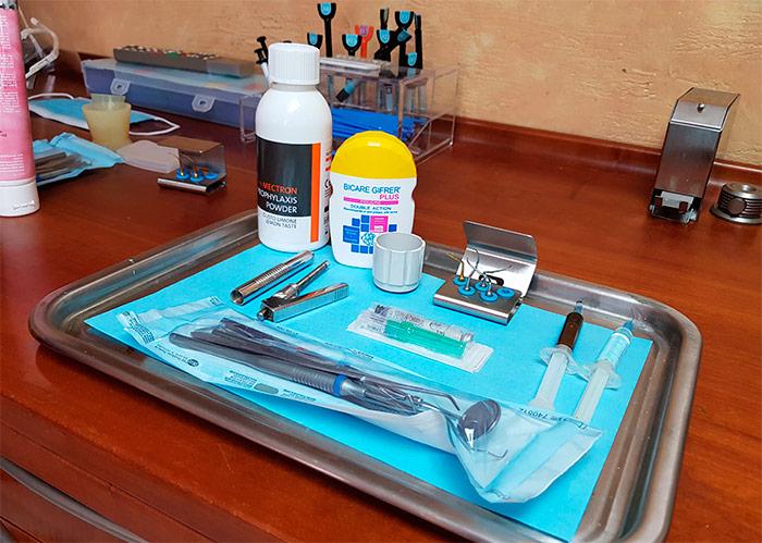 Matériel chirurgien dentiste Nice-Est